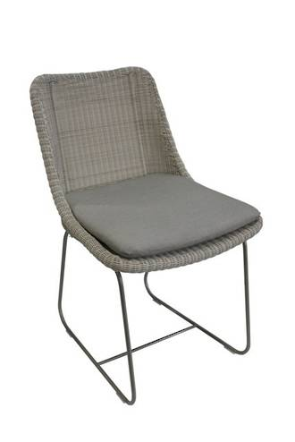 Cancun Stainless Steel Dining Chair
