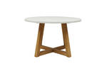 Cabo Round Cross Dining Table